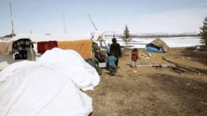 innu-camp-tents